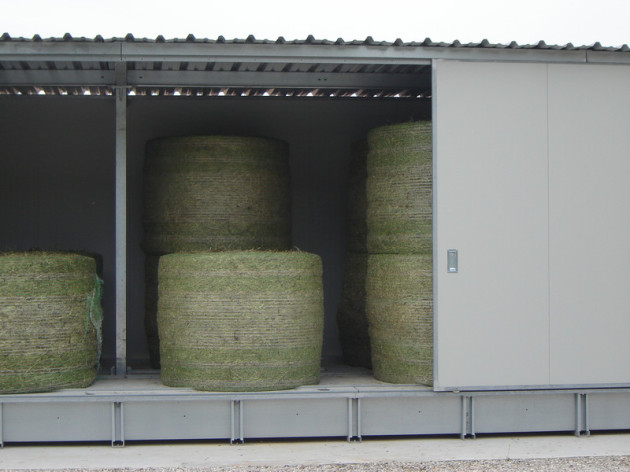 compact, hay dryer, round bales, square bales, biogas