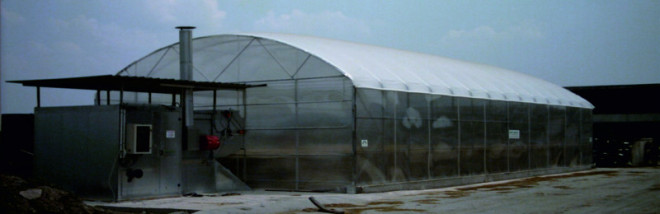 AgriCompact Technologies GmbH - HAY DRYER COMPACT IN CONCRETE CONSTRUCTION UNDER A GREENHOUSE